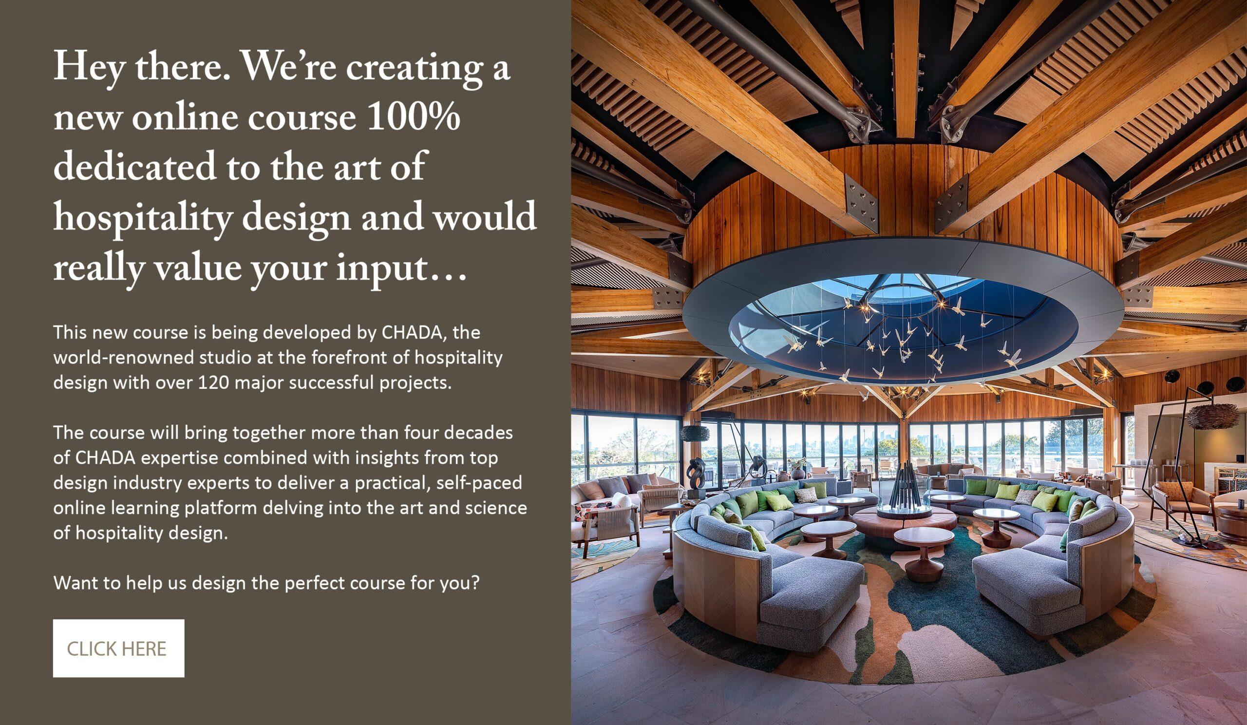 Hospitality Design CourseHospitality Design CourseSurvey